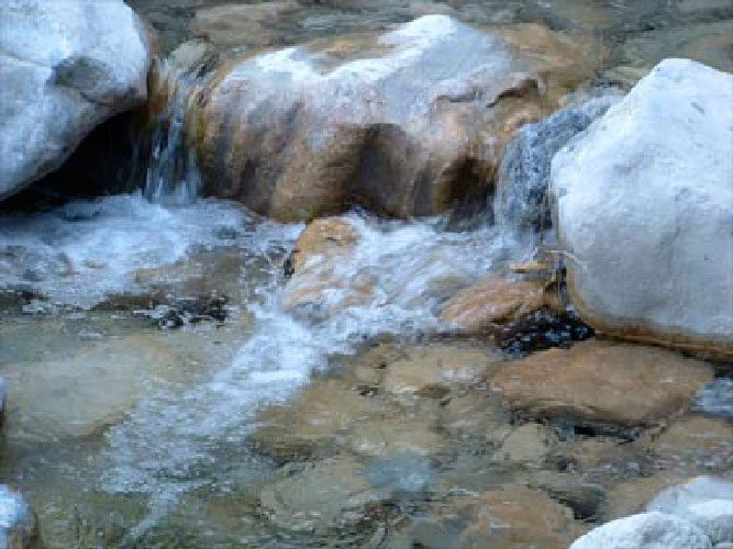 Rippling Water Samarian Gorge Crete