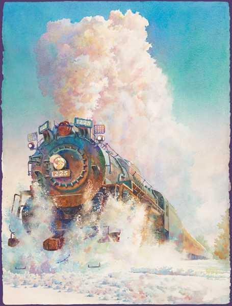 Engine 1225 Winter